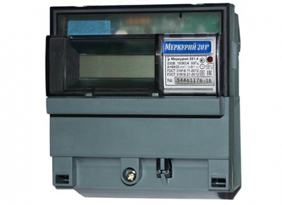 Счетчик электроэнергии INCOTEX Меркурий 201.2